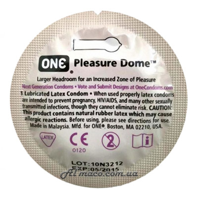 ONE Pleasure Dome1