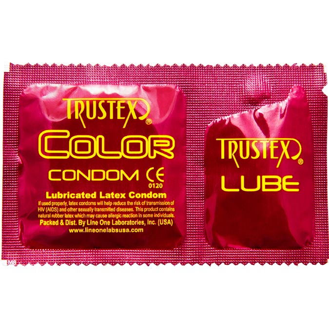 Trustex Color with Lube