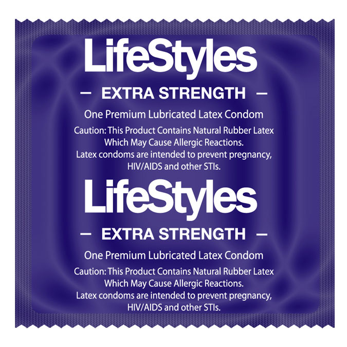 LifeStyles Extra Strength